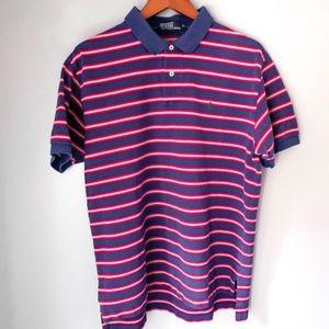 Ralph Lauren Polo Red White and Blue 2 Button | XL